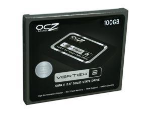 "OCZ Vertex 2 OCZSSD2-2VTX100G 2.5"" 100GB SATA II MLC Internal Solid State Drive (SSD)"