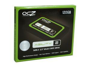 "OCZ Agility 2 OCZSSD2-2AGTE120G 2.5"" 120GB SATA II MLC Internal Solid State Drive (SSD)"
