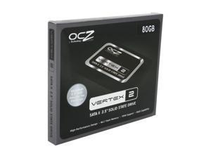 "OCZ Vertex 2 OCZSSD2-2VTX80G 2.5"" 80GB SATA II MLC Internal Solid State Drive (SSD)"