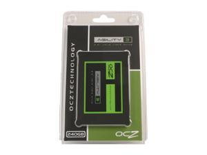 "OCZ Agility 3 AGT3-25SAT3-240G 2.5"" MLC Internal Solid State Drive (SSD)"