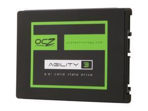 "OCZ Agility 3 AGT3-25SAT3-180G 2.5"" 180GB SATA III MLC Internal Solid State Drive (SSD)"