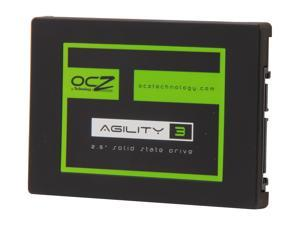 "OCZ Agility 3 AGT3-25SAT3-256G 2.5"" MLC Internal Solid State Drive (SSD)"