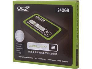 "Manufacturer Recertified OCZ Agility 2 OCZSSD2-2AGTE240G.RF 2.5"" 240GB SATA II MLC Internal Solid State Drive (SSD)"