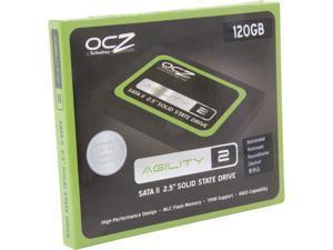 "Manufacturer Recertified OCZ Agility 2 OCZSSD2-2AGTE120G.RF 2.5"" 120GB SATA II MLC Internal Solid State Drive (SSD)"