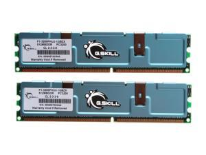 G.SKILL 1GB (2 x 512MB) 184-Pin DDR SDRAM DDR 400 (PC 3200) Dual Channel Kit Desktop Memory
