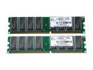 G.SKILL 1GB (2 x 512MB) 184-Pin DDR SDRAM DDR 400 (PC 3200) Dual Channel Kit System Memory