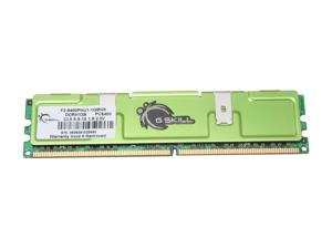 G.SKILL 1GB 240-Pin DDR2 SDRAM DDR2 800 (PC2 6400) Desktop Memory Model F2-6400PHU1-1GBNR