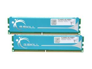 G.SKILL 2GB (2 x 1GB) 240-Pin DDR2 SDRAM DDR2 800 (PC2 6400) Dual Channel Kit Desktop Memory Model F2-6400CL4D-2GBPK