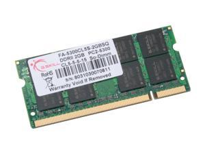 G.SKILL 2GB DDR2 667 (PC2 5300) Memory For Apple Notebook