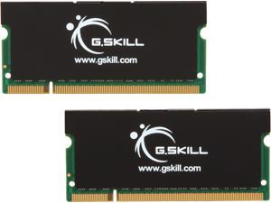 G.SKILL 4GB (2 x 2GB) 200-Pin DDR2 SO-DIMM DDR2 667 (PC2 5300) Dual Channel Kit Laptop Memory Model F2-5300CL5D-4GBSK