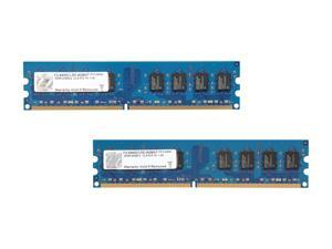 G.SKILL 4GB (2 x 2GB) 240-Pin DDR2 SDRAM DDR2 800 (PC2 6400) Dual Channel Kit Desktop Memory Model F2-6400CL5D-4GBNT