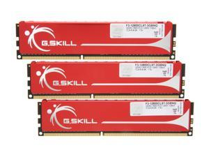 G.SKILL 3GB (3 x 1GB) 240-Pin DDR3 SDRAM DDR3 1600 (PC3 12800) Triple Channel Kit Desktop Memory