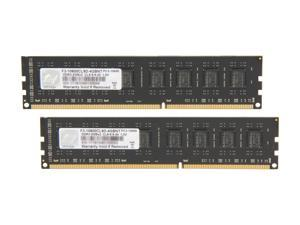 G.SKILL 4GB (2 x 2GB) 240-Pin DDR3 SDRAM DDR3 1333 (PC3 10600) Dual Channel Kit Desktop Memory