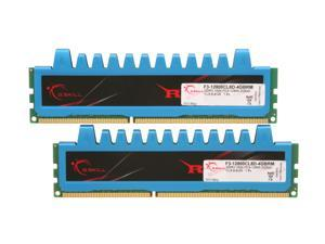 G.SKILL Ripjaws Series 4GB (2 x 2GB) 240-Pin DDR3 SDRAM DDR3 1600 (PC3 12800) Desktop Memory Model F3-12800CL8D-4GBRM