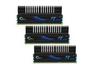 G.SKILL PI Series 6GB (3 x 2GB) 240-Pin DDR3 SDRAM DDR3 1600 (PC3 12800) Desktop Memory