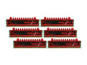 G.SKILL Ripjaws Series 24GB (6 x 4GB) 240-Pin DDR3 SDRAM DDR3 1333 (PC3 10666) Desktop Memory Model F3-10666CL9T2-24GBRL