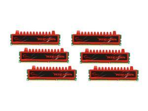 G.SKILL Ripjaws Series 24GB (6 x 4GB) 240-Pin DDR3 SDRAM DDR3 1600 (PC3 12800) Desktop Memory Model F3-12800CL9T2-24GBRL