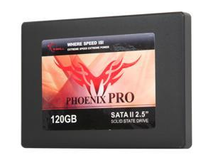 """G.SKILL Phoenix Pro Series FM-25S2S-120GBP2 2.5"""" 120GB SATA II MLC Internal Solid State Drive (SSD)"""
