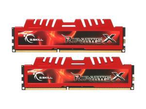 G.SKILL Ripjaws X Series 4GB (2 x 2GB) 240-Pin DDR3 SDRAM DDR3 1333 (PC3 10666) Desktop Memory Model F3-10666CL9D-4GBXL