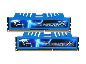 G.SKILL Ripjaws X Series 8GB (2 x 4GB) 240-Pin DDR3 SDRAM DDR3 1600 (PC3 12800) Desktop Memory Model F3-12800CL8D-8GBXM