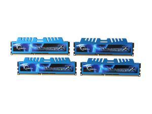 G.SKILL Ripjaws X Series 8GB (4 x 2GB) 240-Pin DDR3 SDRAM DDR3 1600 (PC3 12800) Desktop Memory Model F3-12800CL7Q-8GBXM