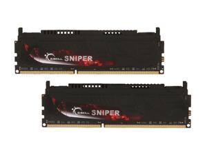 G.SKILL Sniper Series 8GB (2 x 4GB) 240-Pin DDR3 SDRAM DDR3 2133 (PC3 17000) Desktop Memory Model F3-17000CL9D-8GBSR