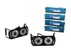 G.SKILL Ripjaws Z Series 16GB (4 x 4GB) 240-Pin DDR3 SDRAM DDR3 2400 (PC3 19200) Desktop Memory Model F3-19200CL9Q-16GBZMD