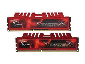 G.SKILL Ripjaws X Series 16GB (2 x 8GB) 240-Pin DDR3 SDRAM DDR3 1866 (PC3 14900) Desktop Memory Model F3-14900CL10D-16GBXL