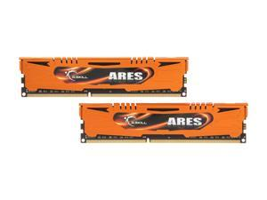 G.SKILL Ares Series 8GB (2 x 4GB) 240-Pin DDR3 SDRAM DDR3 1600 (PC3 12800) Desktop Memory Model F3-1600C9D-8GAO