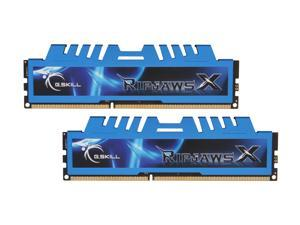 G.SKILL Ripjaws X Series 16GB (2 x 8GB) 240-Pin DDR3 SDRAM DDR3 1600 (PC3 12800) Desktop Memory Model F3-1600C9D-16GXM