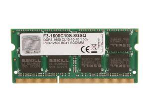 G.SKILL 8GB 204-Pin DDR3 SO-DIMM DDR3 1600 (PC3 12800) Laptop Memory