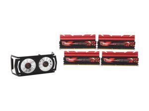 G.SKILL TridentX Series 16GB (4 x 4GB) 240-Pin DDR3 SDRAM DDR3 2666 (PC3 21300) Desktop Memory Model F3-2666C10Q-16GTXD