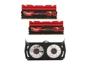 G.SKILL Trident X Series 16GB (2 x 8GB) 240-Pin DDR3 SDRAM DDR3 2666 (PC3 21300) Desktop Memory Model F3-2666C11D-16GTXD