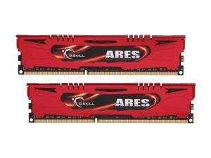 G.SKILL Ares Series 16GB (2 x 8GB) 240-Pin DDR3 SDRAM DDR3 1600 (PC3 12800) Desktop Memory Model F3-1600C9D-16GAR