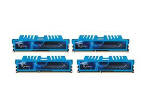 G.SKILL Ripjaws X Series 32GB (4 x 8GB) 240-Pin DDR3 SDRAM DDR3 1866 (PC3 14900) Desktop Memory Model F3-1866C9Q-32GXM