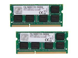 G.SKILL 16GB (2 x 8GB) DDR3 1600 (PC3 12800) Memory for Apple Model FA-1600C11D-16GSQ