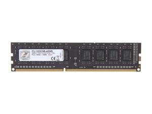 G.SKILL NS Series 4GB 240-Pin DDR3 SDRAM DDR3 1333 (PC3 10600) Desktop Memory Model F3-1333C9S-4GNS