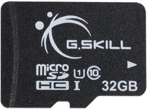 G.Skill 32GB microSDHC UHS-I/U1 Class 10 Memory Card without Adapter (FF-TSDG32GN-C10)