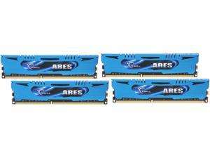 G.SKILL Ares Series 16GB (4 x 4GB) 240-Pin DDR3 SDRAM DDR3 2400 (PC3 19200) Desktop Memory Model F3-2400C11Q-16GAB