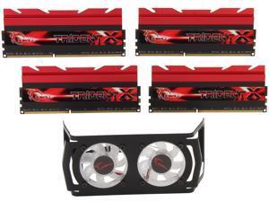 G.SKILL Trident X Series 32GB (4 x 8GB) 240-Pin DDR3 SDRAM DDR3 2933 (PC3 23400) Desktop Memory Model F3-2933C12Q-32GTXDG