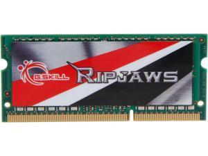 G.SKILL Ripjaws Series 4GB 204-Pin DDR3 SO-DIMM DDR3L 1600 (PC3L 12800) Laptop Memory Model F3-1600C9S-4GRSL
