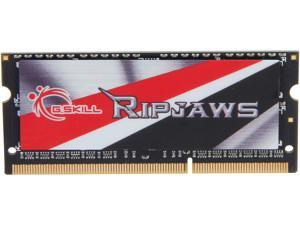 G.SKILL Ripjaws Series 8GB 204-Pin DDR3 SO-DIMM DDR3L 1600 (PC3L 12800) Laptop Memory Model F3-1600C9S-8GRSL