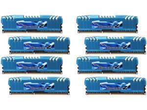 G.SKILL Ripjaws Z Series 64GB (8 x 8GB) 240-Pin DDR3 SDRAM DDR3 2400 (PC3 19200) Desktop Memory Model F3-2400C11Q2-64GZM