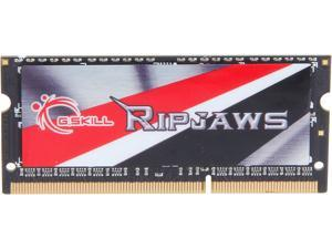 G.SKILL Ripjaws Series 8GB 204-Pin DDR3 SO-DIMM DDR3L 1600 (PC3L 12800) Laptop Memory Model F3-1600C11S-8GRSL