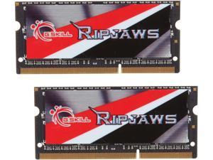 G.SKILL Ripjaws Series 16GB (2 x 8G) 204-Pin DDR3 SO-DIMM DDR3L 1600 (PC3L 12800) Laptop Memory Model F3-1600C11D-16GRSL