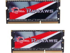 G.SKILL Ripjaws Series 16GB (2 x 8G) 204-Pin DDR3 SO-DIMM DDR3L 1866 (PC3L 14900) Laptop Memory Model F3-1866C11D-16GRSL