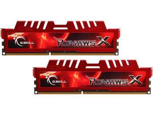G.SKILL Ripjaws X Series 16GB (2 x 8GB) 240-Pin DDR3 SDRAM DDR3 2133 (PC3 17000) Desktop Memory Model F3-2133C11D-16GXL