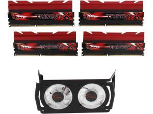 G.SKILL Trident X Series 16GB (4 x 4GB) 240-Pin DDR3 SDRAM DDR3 3100 (PC3 24800) Desktop Memory Model F3-3100C12Q-16GTXDG