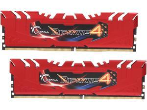 G.SKILL Ripjaws 4 Series 16GB (2 x 8GB) 288-Pin DDR4 SDRAM DDR4 2133 (PC4 17000) Memory Kit Model F4-2133C15D-16GRR