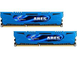 G.SKILL Ares Series 16GB (2 x 8GB) 240-Pin DDR3 SDRAM DDR3 1600 (PC3 12800) Intel Z87/ Z77/ Z68/ P67 Low Profile Extreme Performance Memory Model F3-1600C9D-16GAB